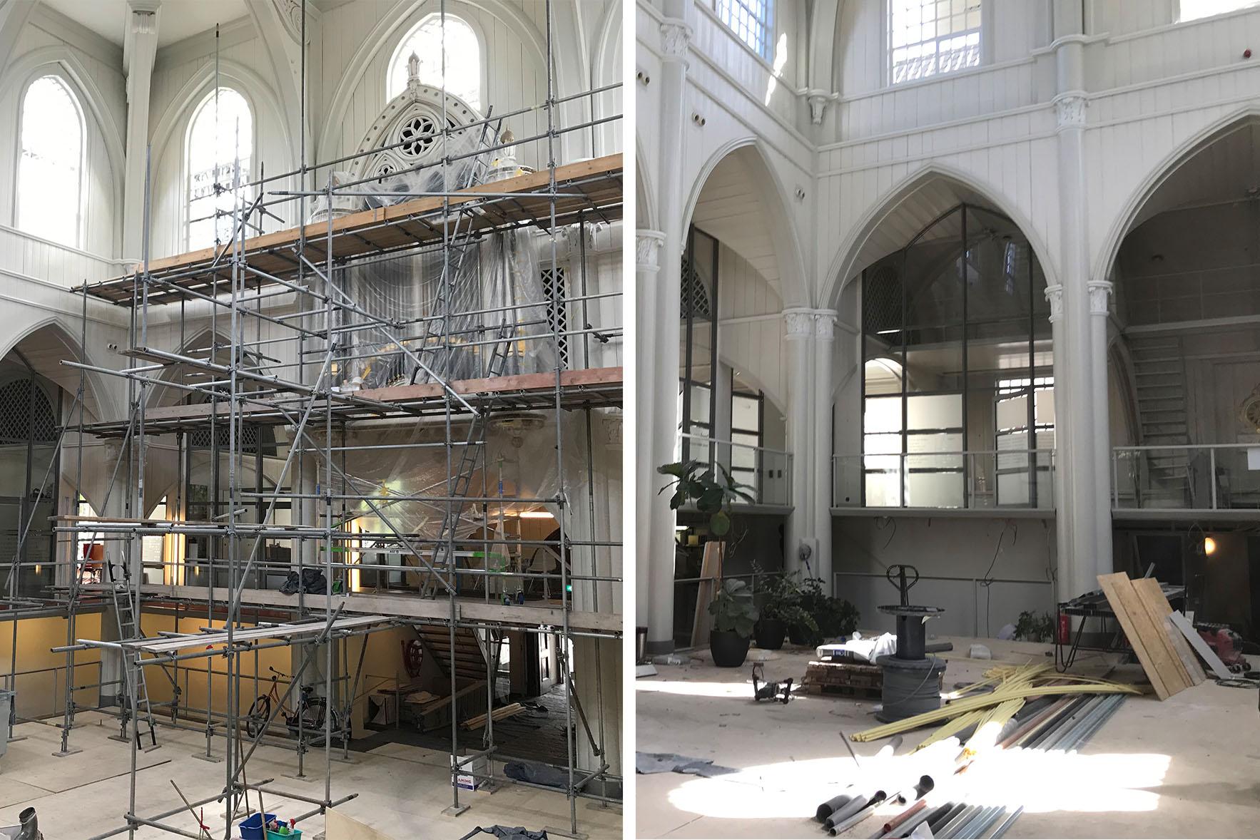 Amstelkerk, stadsherstel